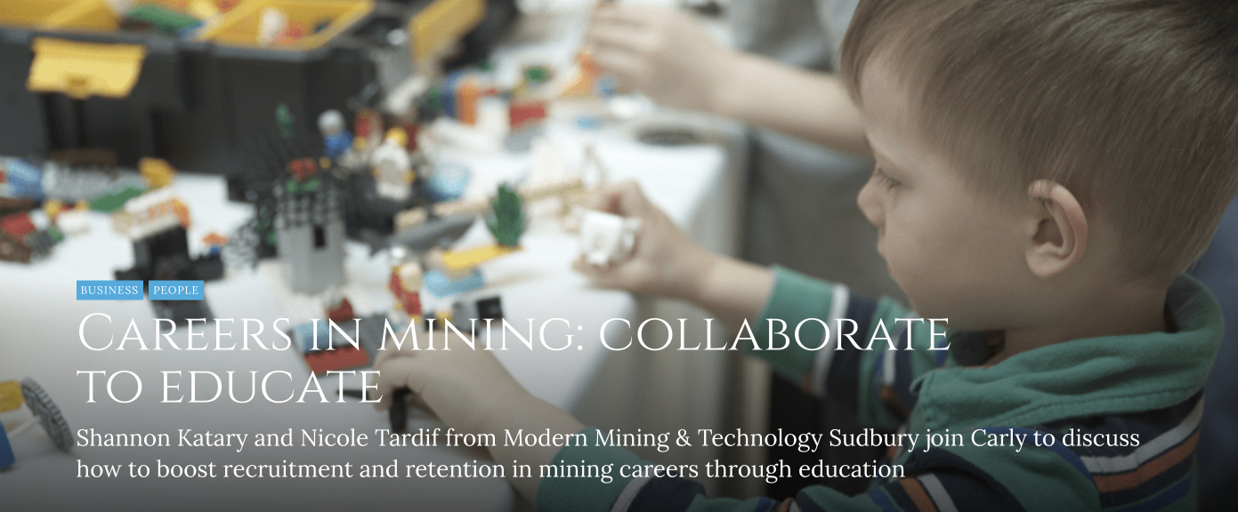 Careers in mining: collaborate to educate